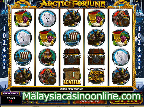 北极的财富 (Arctic Fortune Slot)