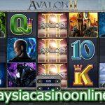 阿瓦隆II- 寻找圣杯 (Avalon II – Quest for The Grail Slot)