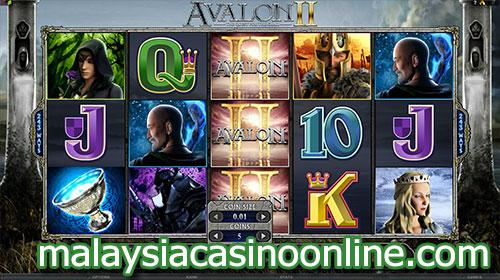 阿瓦隆II- 寻找圣杯 (Avalon II - Quest for The Grail Slot)