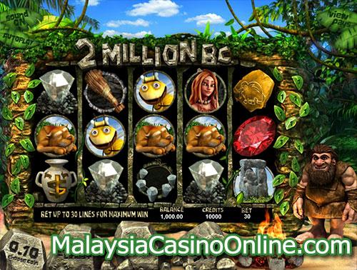 公元前200万年老虎机 (2 Million BC Slot)