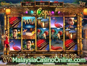 库帕海岸老虎机 (At The Copa Slot)