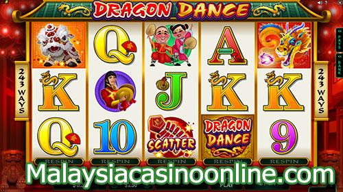 舞龙老虎机 (Dragon Dance Slot)