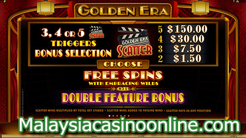 黄金时代老虎机 (Golden Era Slot) Free Spins Bonus