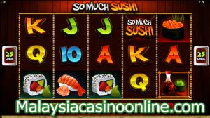 丰富的寿司老虎机 (So Much Sushi Slot)